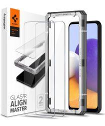 Spigen AlignMaster Samsung Galaxy A22 5G Screen Protector Full Cover