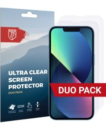 Rosso Apple iPhone 13/13 Pro Ultra Clear Screen Protector Duo Pack