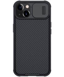 Nillkin CamShield Apple iPhone 13 Hoesje met Camera Slider Zwart