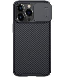 Nillkin CamShield Apple iPhone 13 Pro Hoesje met Camera Slider Zwart