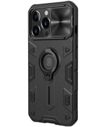 Nillkin CamShield Armor Apple iPhone 13 Camera Slider Zwart