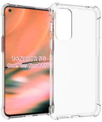 OnePlus Nord 2 5G Hoesje Schokbestendig Dun TPU Back Cover Transparant
