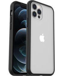 OtterBox React Apple iPhone 12 / 12 Pro Hoesje Transparant Zwart