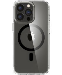 Spigen Ultra Hybrid iPhone 13 Pro Hoesje MagSafe Transparant/Zwart