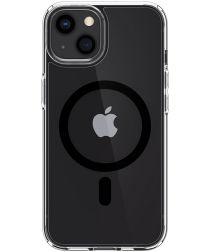 Spigen Ultra Hybrid iPhone 13 Hoesje MagSafe Transparant/Zwart