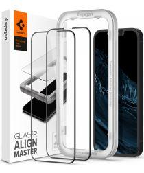 Spigen AlignMaster iPhone 13 Mini Screen Protector Tempered Glass