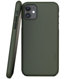 Nudient Thin Case V3 Apple iPhone 11 Hoesje Back Cover Groen