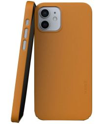 Nudient Thin Case V3 Apple iPhone 12 / 12 Pro Hoesje Back Cover Geel