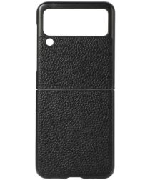 Samsung Galaxy Z Flip Leren Hoesjes