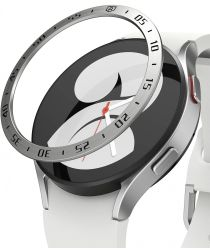Ringke Bezel Styling Galaxy Watch 4 44MM Randbeschermer RVS Zilver