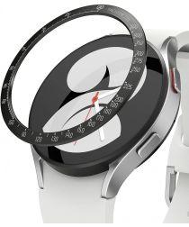 Ringke Bezel Styling Galaxy Watch 4 44MM Randbeschermer Staal Zwart
