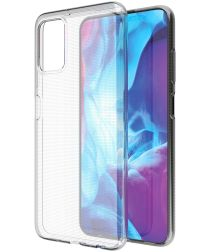 Samsung Galaxy A03s Hoesje Back Cover Dun TPU Transparant