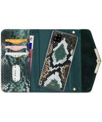 Mobilize Velvet Clutch Samsung Galaxy A42 Hoesje Green Snake
