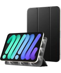 Apple iPad Mini 6 Hoesje Magnetische Tri-Fold Book Case Zwart