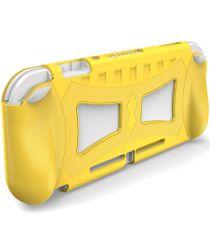 Nintendo Switch Lite Hoesje Flexibele TPU Cover Geel