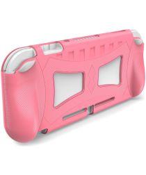 Nintendo Switch Lite Hoesje Flexibele TPU Cover Roze