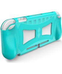 Nintendo Switch Lite Hoesje Flexibele TPU Cover Blauw