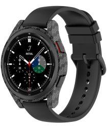 Samsung Galaxy Watch 4 Classic 46MM Hoesje Hard Plastic Bumper Carbon
