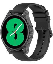 Samsung Galaxy Watch 4 44MM Hoesje Hard Plastic Bumper Carbon