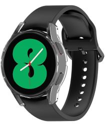 Samsung Galaxy Watch 4 44MM Hoesje Flexibel TPU Bumper Transparant