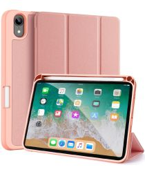 Dux Ducis Domo Apple iPad Mini 6 Hoes Tri-Fold Book Case Roze