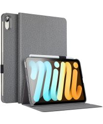 ESR Urban Premium Apple iPad Mini 6 Hoes Tri-Fold Book Case Grijs