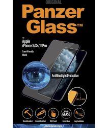 PanzerGlass iPhone X/XS/11 Pro Screen Protector Antibacterieel Zwart