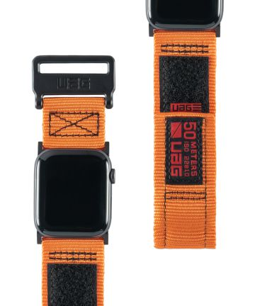 Urban Armor Gear Active Apple Watch Band 4/5 44MM, 3/2/1 42MM Oranje
