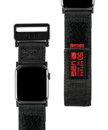 Urban Armor Gear Active Apple Watch Band 4/5 44MM, 3/2/1 42MM Zwart