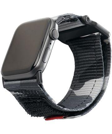 Urban Armor Gear Active Apple Watch 44MM / 42MM Bandje Midnight Camo