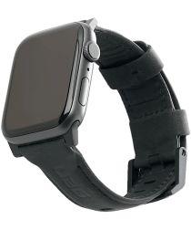 Urban Armor Gear Leather Apple Watch 44MM / 42MM Bandje Zwart