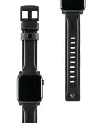 Urban Armor Gear Leather Apple Watch Band 4/5 44MM, 3/2/1 42MM Zwart