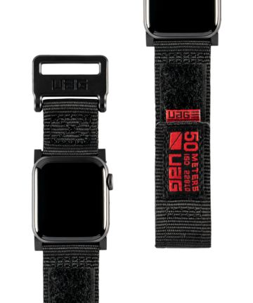 Urban Armor Gear Active Apple Watch Band 4/5 40MM, 3/2/1 38MM Zwart