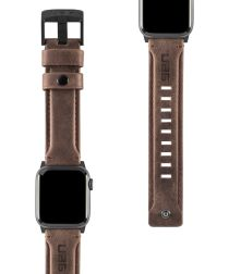 Urban Armor Gear Leather Apple Watch Band 4/5 40MM, 3/2/1 38MM Bruin