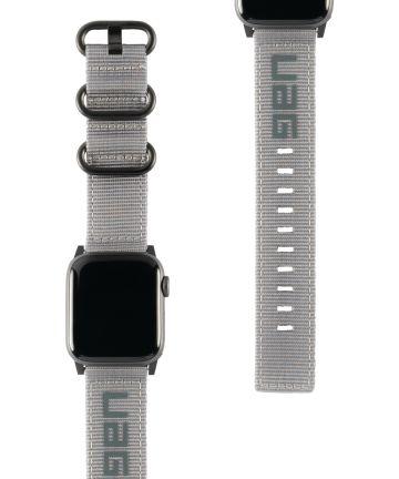 Urban Armor Gear Nato Apple Watch Band 4/5 40MM, 3/2/1 38MM Grijs