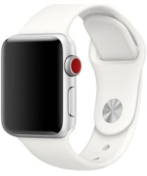 Apple Watch Band Siliconen 4/5 40MM, 3/2/1 38MM Wit