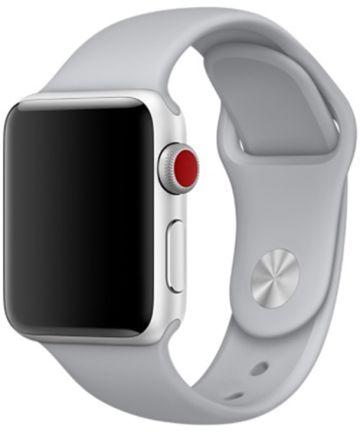 Apple Watch Band Siliconen 4/5 40MM, 3/2/1 38MM Grijs