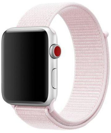 Originele Apple Nike Sport Loop Apple Watch Band 44MM / 42MM Roze