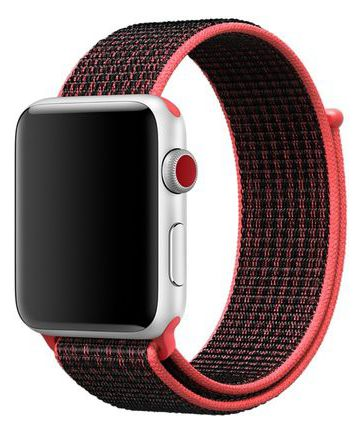 Originele Apple Nike Sport Loop Apple Watch Band 44MM / 42MM Rood