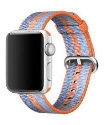 Originele Apple Gevlochten Nylon Bandje Watch 44MM / 42MM Oranje