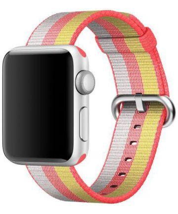 Origineel Apple Geweven Nylon Apple Watch 44MM / 42MM Bandje Rood Bandjes