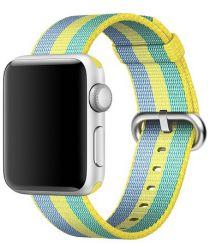 Originele Apple Gevlochten Nylon Bandje Watch 44MM / 42MM Geel