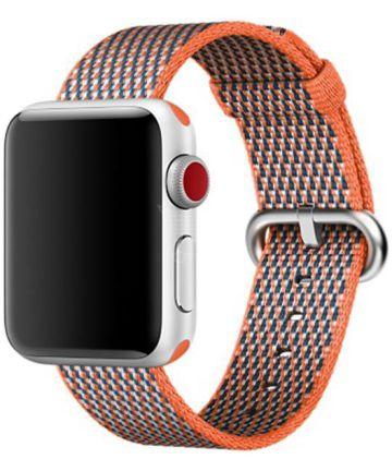 Origineel Apple Geweven Nylon Apple Watch 40MM / 38MM Bandje Oranje Bandjes