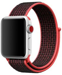 Origineel Apple Nike Sport Loop Apple Watch 40MM / 38MM Bandje Rood