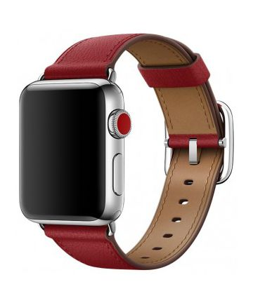 Originele Apple Classic Buckle Apple Watch Band 40MM / 38MM Rood
