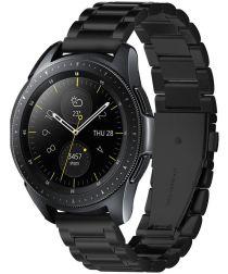 Spigen Modern Fit Universeel Smartwatch 20MM Bandje RVS Zwart