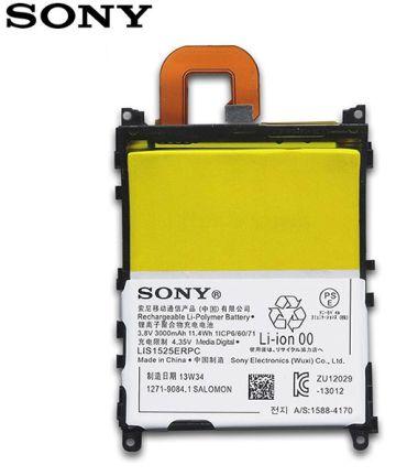 Sony Xperia Z1 Batterij LIS1525ERPC Origineel: 3000mAh