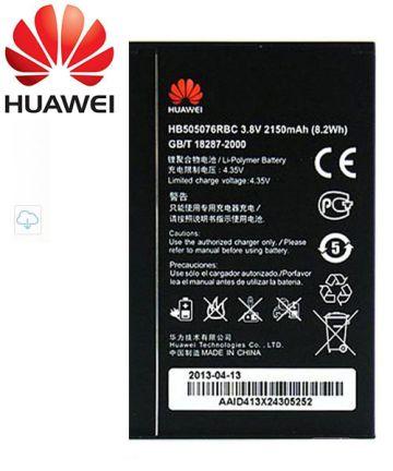 Huawei G700, G610 en Y600 HB505076RBC Batterij Origineel: 2100 mAh