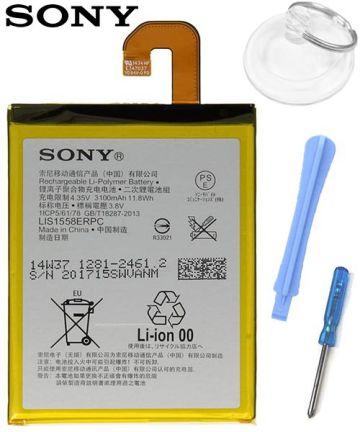 Sony Xperia Z3 Batterij LIS1558ERPC Origineel: 3100mAh