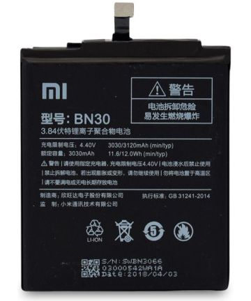 Xiaomi Redmi 4a Batterij BN30 3030mAh